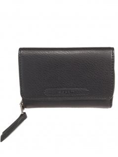 Esprit Damen Geldbörse Portemonnaies Tori medium clutch Schwarz - Vorschau 1