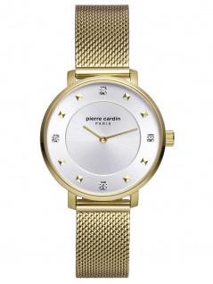 Pierre Cardin PC902412F06 Brochant Uhr Damenuhr Edelstahl Gold