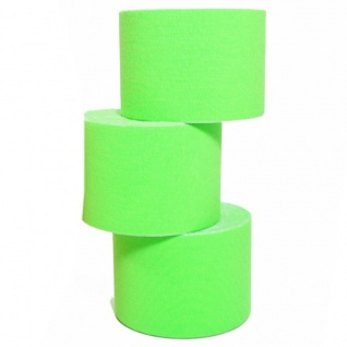 10 Rollen Kinesiologie-Tape 5 m x 5, 0 cm grün (EUR 0, 6 / m)