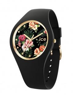 Ice-Watch 016660 ICE flower Colonial S Uhr Damenuhr Kautschuk Schwarz
