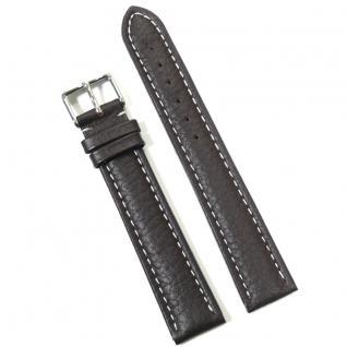 Condor Uhrenband 180021-20-20 Ersatzarmband 20 mm braun Überlang XXL