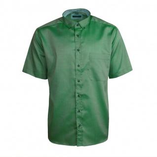 Eterna Herrenhemd Kurzarm Comfort Fit Grün Freizeit Hemd Hemden L/42