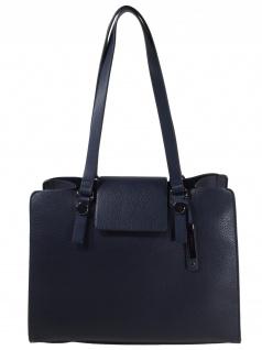 Esprit Damen Handtasche Tasche Henkeltasche Ida small shopper Blau