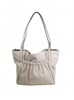 Esprit Damen Handtasche Tasche Henkeltasche Darcy Shopper Beige - Vorschau 3