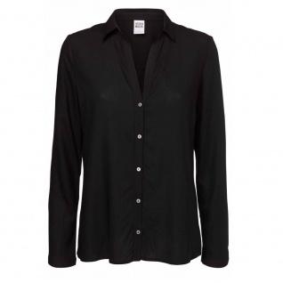 Vero Moda Damen Bluse MANDA LS Shirt Noos Schwarz Gr. M