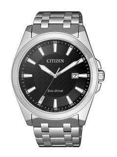 Citizen BM7108-81E Uhr Herrenuhr Edelstahl Datum Silber