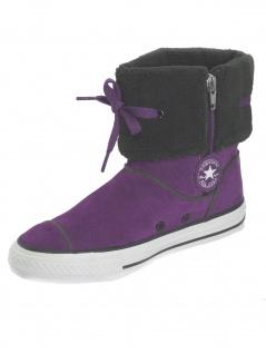 Converse Kinder Schuhe CT ANDOVER 617671 Lila Stiefel Lila Größe 33 - Vorschau 2