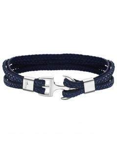 LOTUS LS2006-2-2 Herren Armband Edelstahl Silber Blau 20 cm