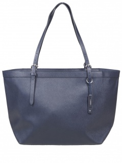 Esprit Damen Handtasche Tasche Shopper Irma Shopper Blau