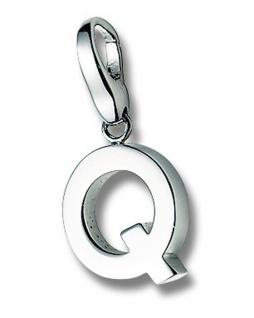 Giorgio Martello 299-805279 Charms Damen Charm Silber Buchstabe Q
