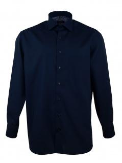 Eterna Herren Hemd Langarm Comfort Fit XXL/45 Blau 1300/19/E83K