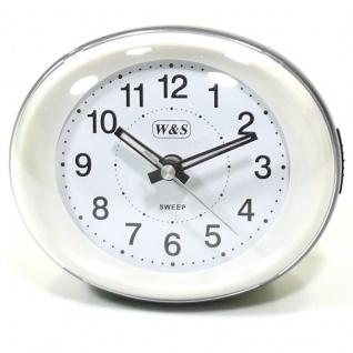 W&S Wecker 201350-silber leise Sekunde