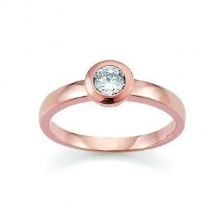 GOOIX 945-0002 Damen Ring rosé Zirkonia 58 (18.5)