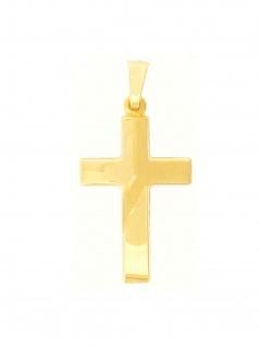 Gerry Eder 27.9198 Anhänger Kreuz 14 Karat (585) Gelbgold Gold