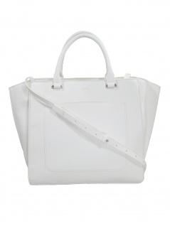 Esprit Damen Handtasche Tasche Henkeltasche Megan city bag Weiß