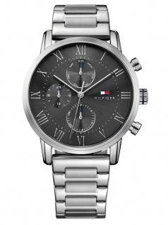 Tommy Hilfiger 1791397 Sophisticated Sport Uhr Edelstahl Datum Silber