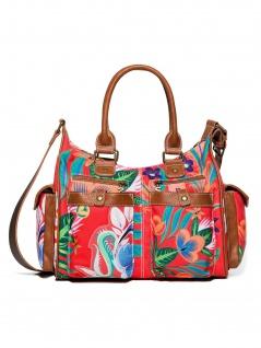 Desigual Damen Handtasche Tasche Henkeltasche LIANA LONDON MEDIUM Rot - Vorschau 3