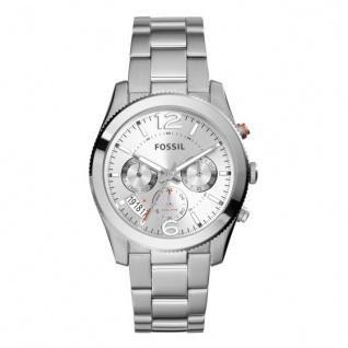 Fossil PERFECT BOYFRIEND Uhr Damenuhr Datum silber ES3883