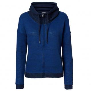 Vero Moda Sweatjacke 10128341 JANE L/S Highneck Zip Sweat Blau Gr. XS - Vorschau 2