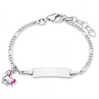 Prinzessin Lillifee 2018082 Mädchen Armband Gravurarmband Silber 14 cm