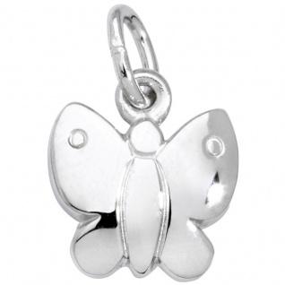 Basic Silber SK30 Kinder Anhänger Schmetterling Silber