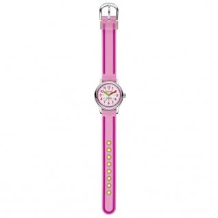 Jacques Farel Kti3333-g Uhr Mädchen Kinderuhr Silikon Rosa - Vorschau 2