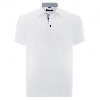 Eterna Herren Comfort Fit Poloshirt Piqué Weiß Gr. XXL/46 2203/00/U577