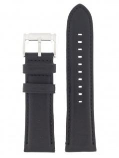 Fossil Uhrenarmband LB-FS4866 Original Ersatzband Leder 24 mm Schwarz