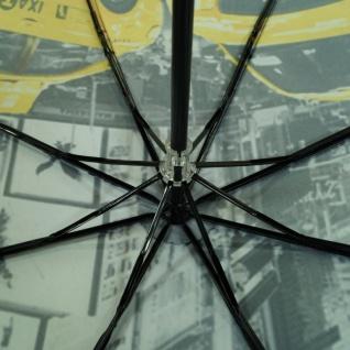 Y Not 55544 Super Mini City New York Grau-Gelb Taschenschirm - Vorschau 2