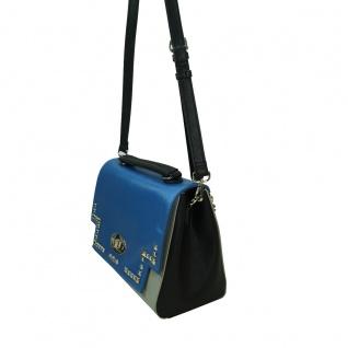 Desigual Bols Roma Tricolor Blau Grün 17WAXPFR-5011 Handtasche Tasche - Vorschau 2