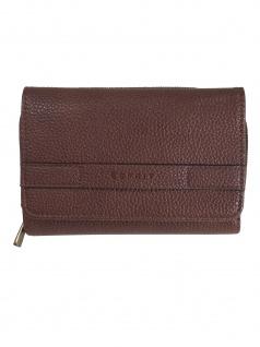 Esprit Damen Geldbörse Portemonnaies Kiki med clutch Braun