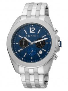 Esprit ES1G159M0065 Field Chrono Chronograph Herrenuhr Datum silber