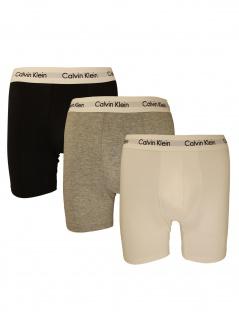 Calvin Klein Herren Boxershort 3er Pack Boxer Brief S Bunt NB1770A-MP1