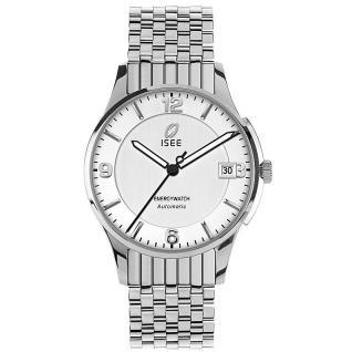 Jacques Lemans i-101E ISEE Energywatch Uhr Damenuhr Automatik silber