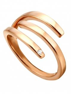 Esprit ESRG00161618 Damen Ring Iva Rose Weiß 57 (18.1)