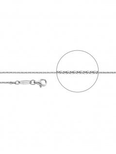 Der Kettenmacher C1-60S Koreaner Kette Silber 60 cm