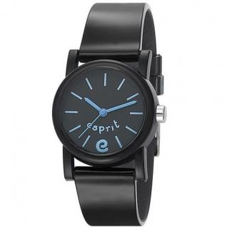 Esprit ES105324001 Kinderuhr super e black schwarz Silikon 30m Uhr