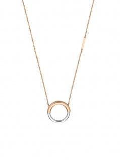 Esprit ESNL00322342 Damen Collier Tint Necklace Bicolor Rose 45 cm
