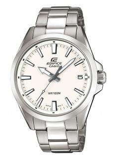 CASIO EFV-100D-7AVUEF EDIFICE Uhr Herrenuhr Edelstahl Datum Silber