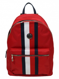 Tommy Hilfiger Rucksack Daypack Poppy Backpack Corp 20L Rot