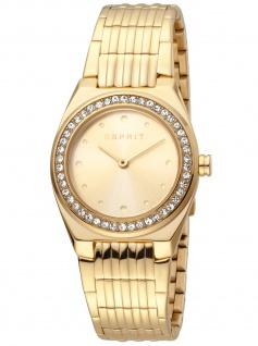 Esprit ES1L148M0065 Spot Champagne Gold MB Uhr Damenuhr Edelstahl gold