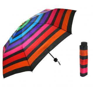 Flash Super Mini Flash printed multicolor stripe Regenschirm