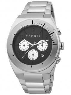 Esprit ES1G157M0065 Strike Chrono Chronograph Herrenuhr Datum silber