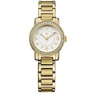 Tommy Hilfiger 1781477 ROSE Uhr Damenuhr Edelstahl gold Zirkonia