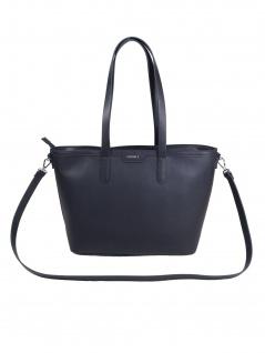 Esprit Damen Handtasche Tasche Henkeltasche Darlene Shopper Blau