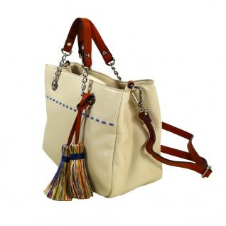 Esprit Tate City Bag Beige Hand Schultertasche Tasche 067EA1O009-E055 - Vorschau 2