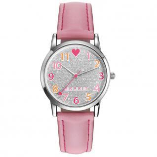 Esprit esprit tp-90650 pink Uhr Mädchen Kinderuhr Lederarmband rosa