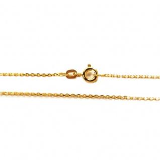 Basic Gold Kinder Anker Kette 14 Karat (585) Gelbgold 36 cm