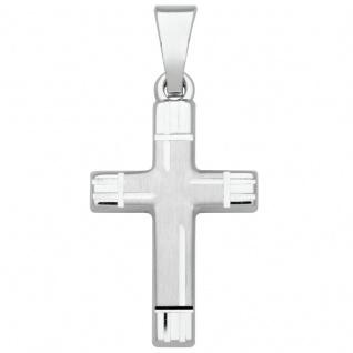 Basic Silber SKE18 Damen Anhänger Kreuz Silber