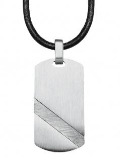 s.Oliver 2024247 Herren Collier Edelstahl Silber 50 cm